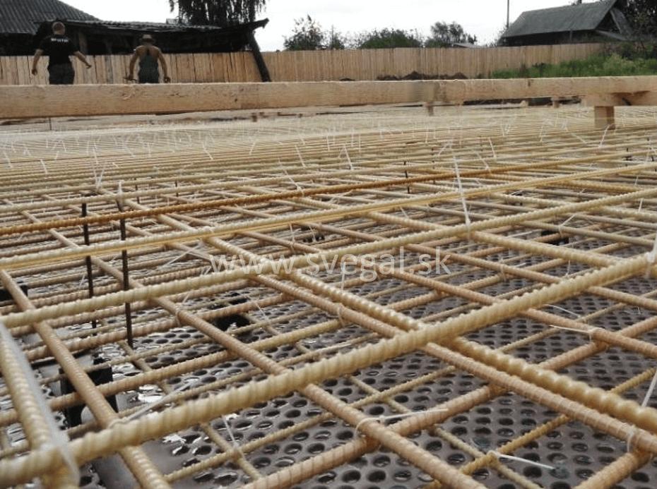 Kompozitná kari sieťovina, armovacia rohož na báze epoxidov