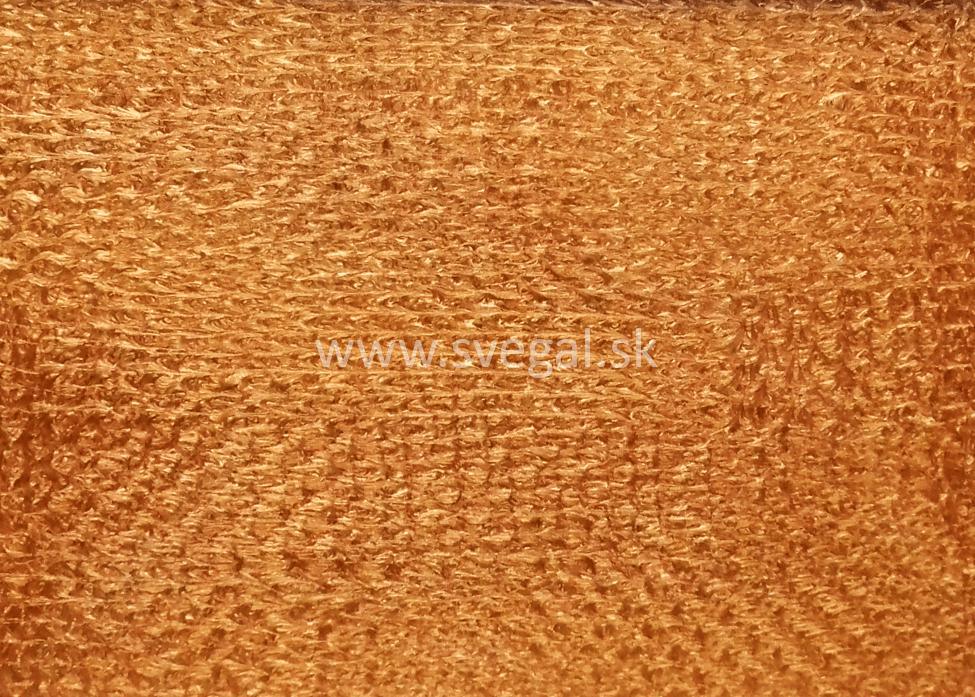 Metalická podlaha zlatá