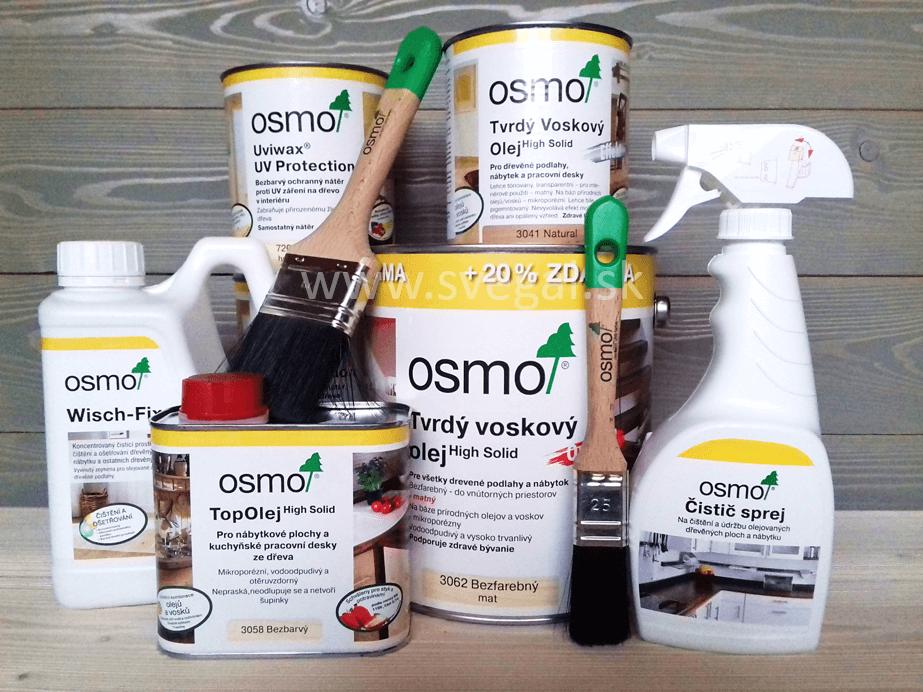 OSMO interiérové nátery