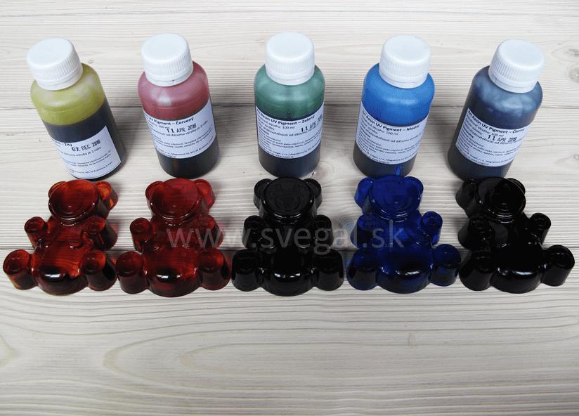 pigmentové roztoky Art Resin