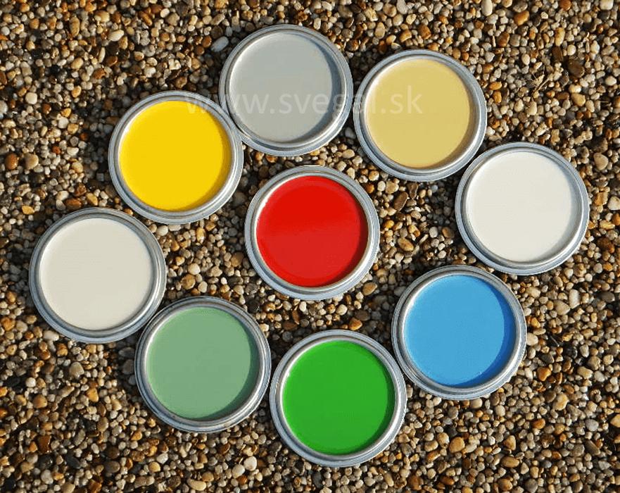 Pigmentujeme podlahové stierky - vzorky tónovaných liatych podláh.