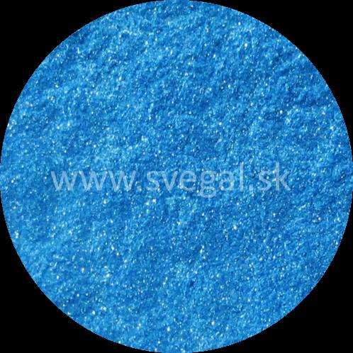 Metalický pigment Art Resin modrý, použiteľný na výrobu efektných metalických odliatkov.