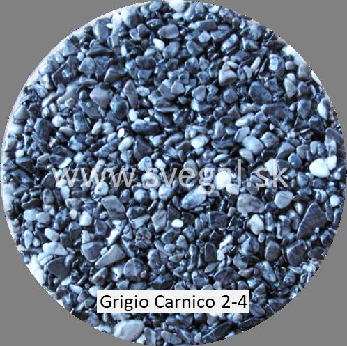 Kamenivo Grigio Carnico 2/4, pre kamenné koberce.