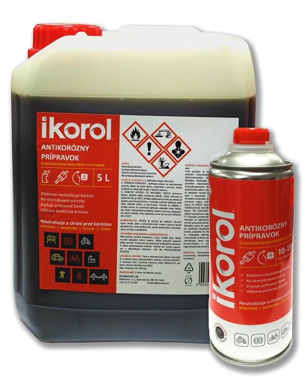 Antikorózny a penetračný prípravok IKOROL