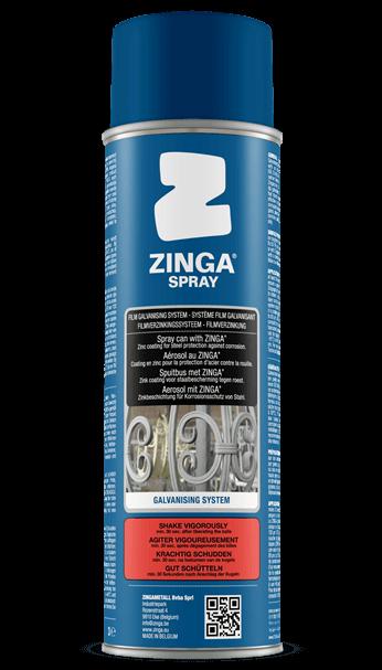Antikorózna ochrana Zinga spray, zinkovanie za studena