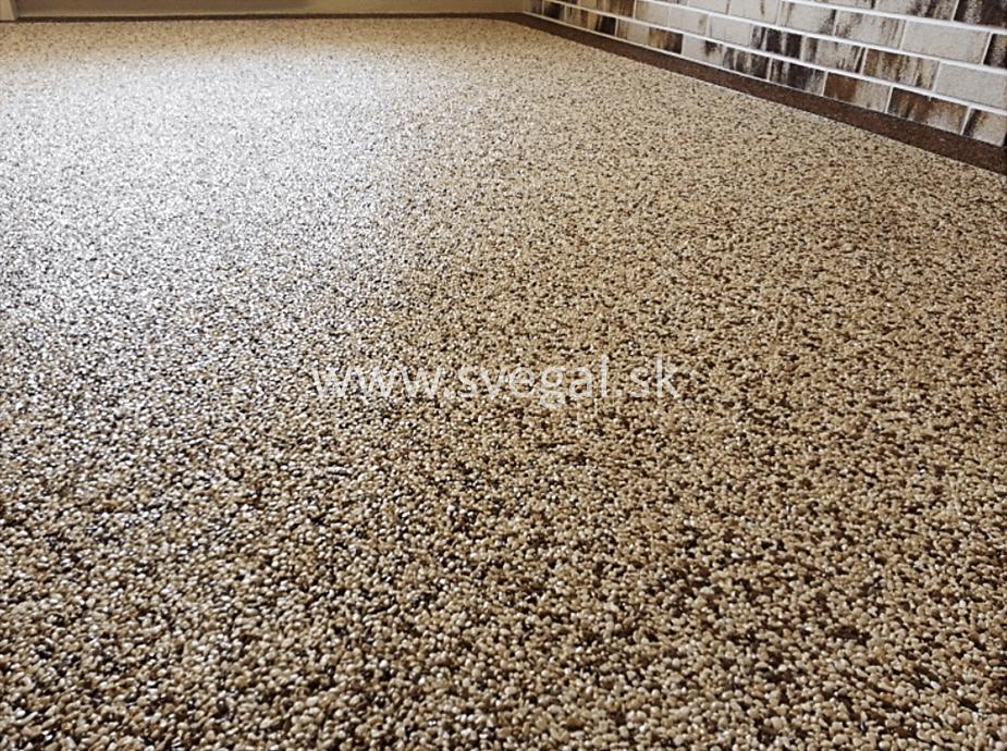 Epodur Stone gél je využitý na uzavretie povrchu kamenného koberca. Gél na kamenné, štrkové, mramorové koberce.