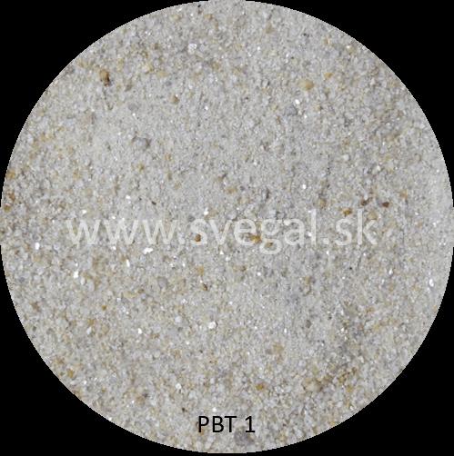 Sušený kremičitý piesok PBT 1 frakcie 0,1 - 1 mm.