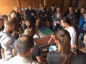 Workshop - aplikácia metalických podláh