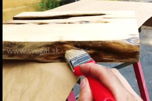pečatenie dreva epoxidovou živicou