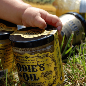 ekologický olejovosk Odie´s Oil v prírode