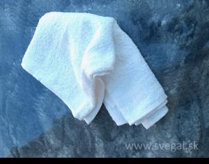 bavlnená utierka vhodná na stieranie ekologického olejovosku