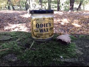 ODIE´S WAX na zvýšenie ochrany a lesku.