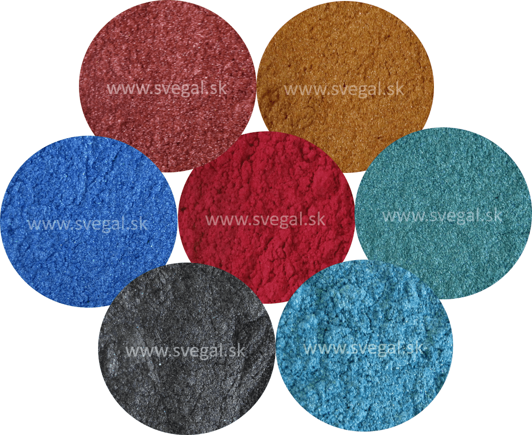 Metallic pigment Premium mix