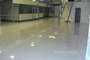Liata podlaha cena - finálny vzhľad