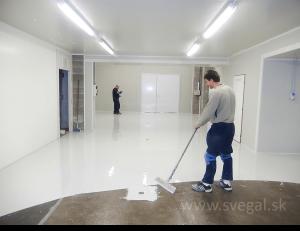 Liata podlaha a jej cena - realizácia